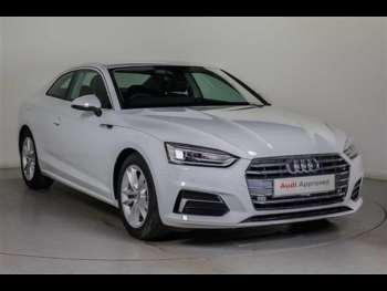 Used Audi A Sport White Cars For Sale Motorscouk - Audi a5 white