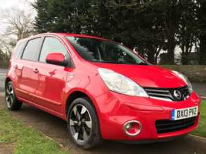2013 (13) Nissan Note 1.5 [90] dCi N-Tec+ 5dr For Sale In Westbury, Wiltshire