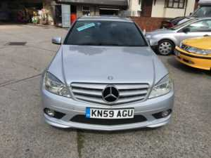 2009 59 Mercedes-Benz C Class C220 CDI BlueEFFICIENCY Sport 4dr Auto 4 Doors Saloon