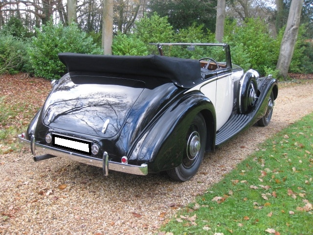 1936 Bentley Drophead For Sale In Landford, Wiltshire