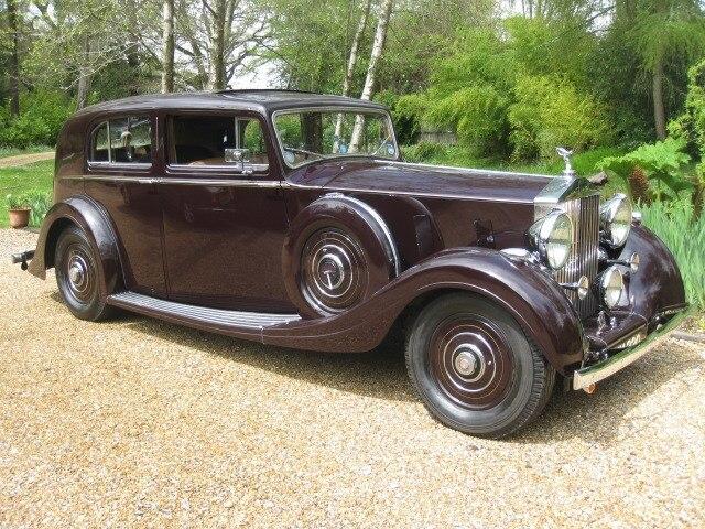 1937 Rolls-Royce Phantom III For Sale In Landford, Wiltshire