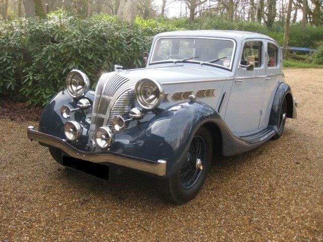 1939 Triumph Dolomite For Sale In Landford, Wiltshire