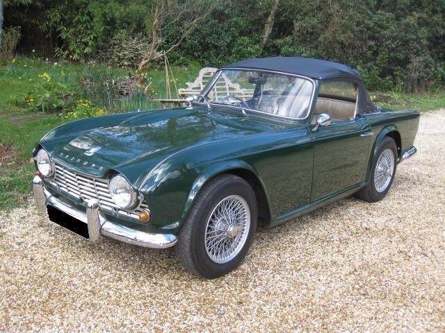1962 Triumph TR4 For Sale In Landford, Wiltshire