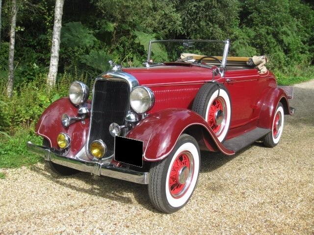1933 Dodge Six Drop Head For Sale In Landford, Wiltshire