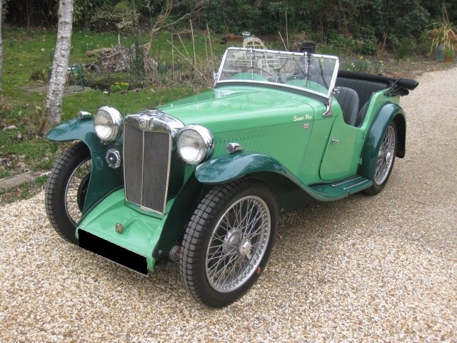 1934 MG PA Tourer For Sale In Landford, Wiltshire