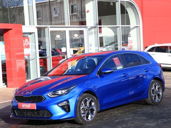 KIA CEED Blue Edition Isg 1.4 Petrol 5dr Hatchback Manual