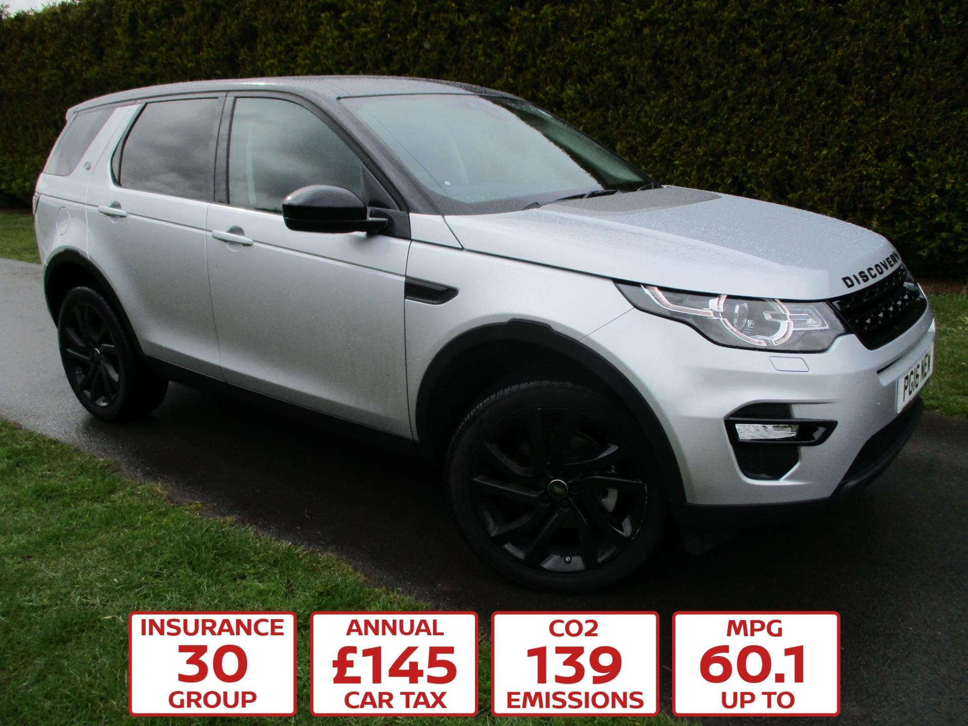 Polesworth Garage Used Cars Land Rover Discovery Sport 2 0 Td4