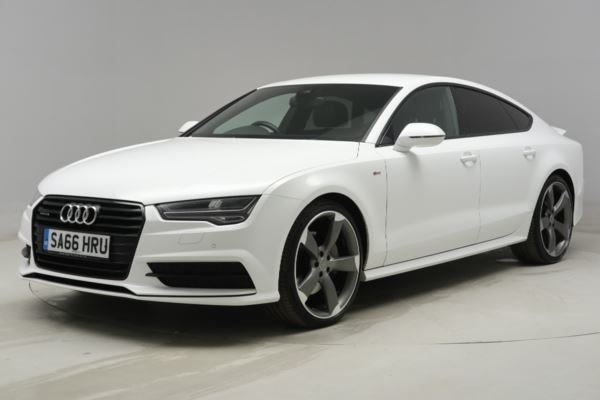 Audi A7 30 Tdi Quattro Black Edition 5dr S Tronic Matrix Led