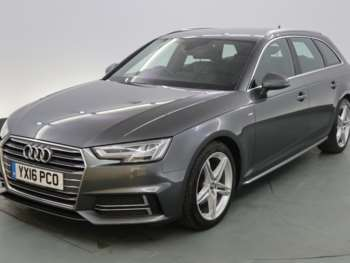 Used Audi A4 S Line Grey Cars For Sale Motors Co Uk