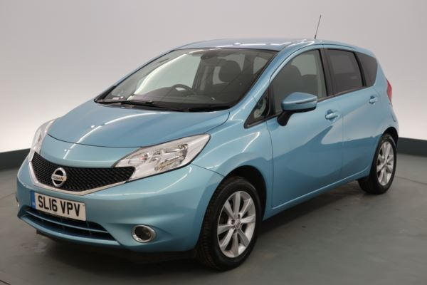 Nissan Note 1 2 DiG-S Acenta Premium 5dr - SD CARD MEDIA INPUT - 16IN  ALLOYS - CLIMATE