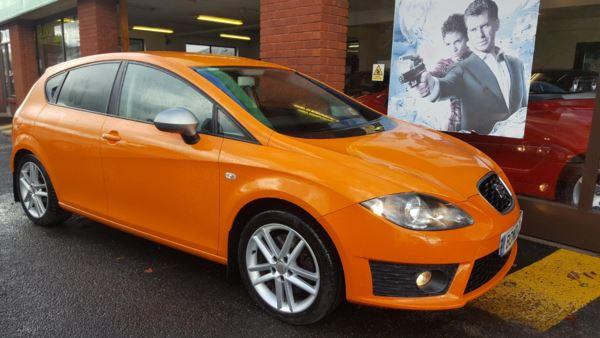 2009 (59) SEAT Leon 2.0 TDI 170 CR FR+ Nav Unique Colour For Sale In Swansea, Glamorgan