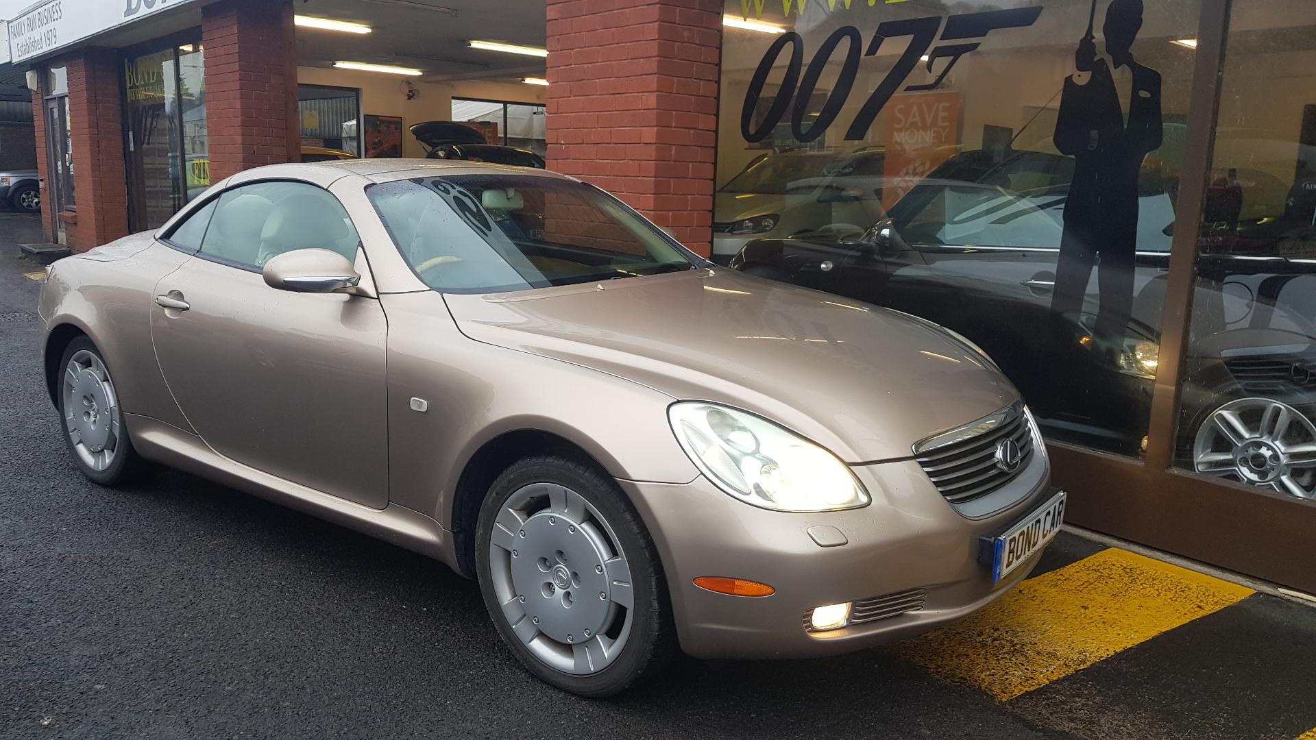2004 (M) Lexus SC 430 4.3 V8 Auto 280 bhp Nav Convertible For Sale In Swansea, Glamorgan