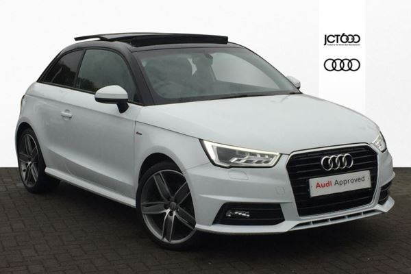 Audi A1 Panoramic Sunroof White Tfsi Used Audi Cars Buy And Sell