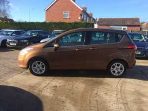 2013 (13) Ford B-MAX 1.4 Zetec 5dr For Sale In Rainworth, Mansfield