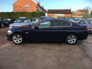 2012 (12) BMW 5 Series 520d BluePerformance EfficientDynamics 4dr For Sale In Rainworth, Mansfield