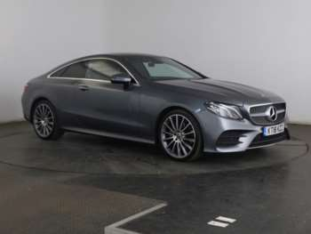 Used Mercedes-Benz E Class Coupe for Sale - RAC Cars
