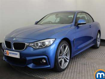Used BMW 4 Series Convertible For Sale