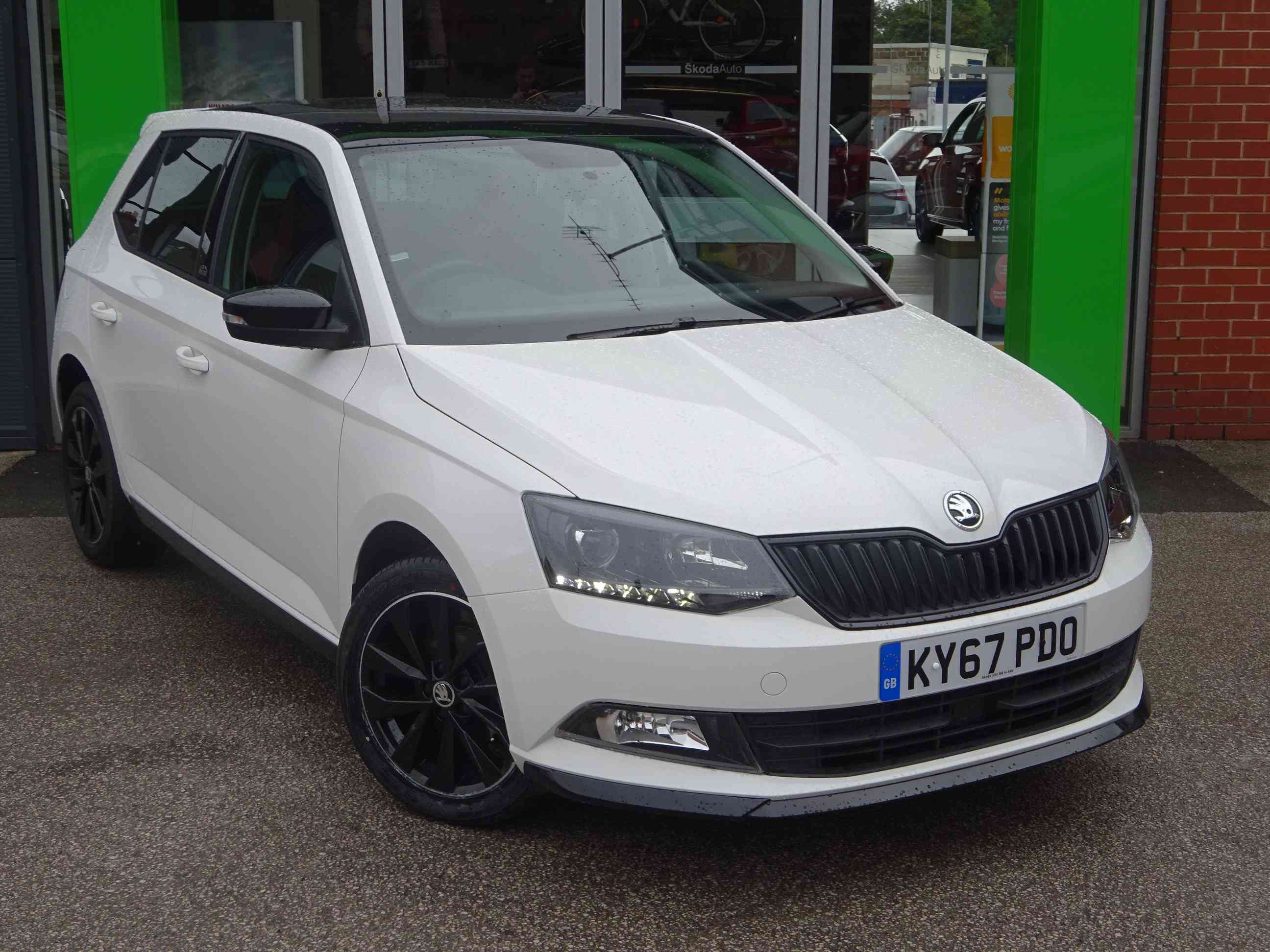 Used Skoda Fabia Monte Carlo Hatchback Cars For Sale Motors Co Uk