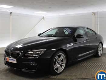 Used BMW 6 Series M Sport Black Cars For Sale