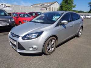2012 (62) Ford Focus 1.0 125 EcoBoost Zetec £30/YR TAX For Sale In Cinderford, Gloucestershire