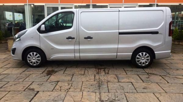 7839bad4ec Vauxhall Vivaro 2900 L2 Sportive LWB 1.6CDTI 115PS Panel Van For ...