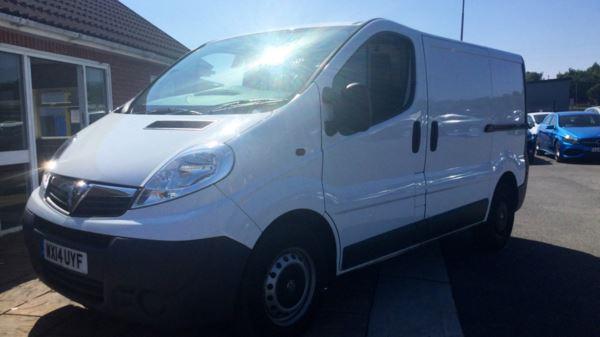 6f2859fc204bc6 Vauxhall Vivaro 2900 SWB 2.0 CDTI 115PS Ecoflex Panel Van