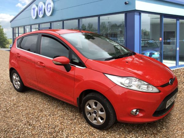 2012 (62) Ford Fiesta 1.6 TDCi [95] Titanium ECOnetic II 5dr For Sale In Newark, Nottinghamshire