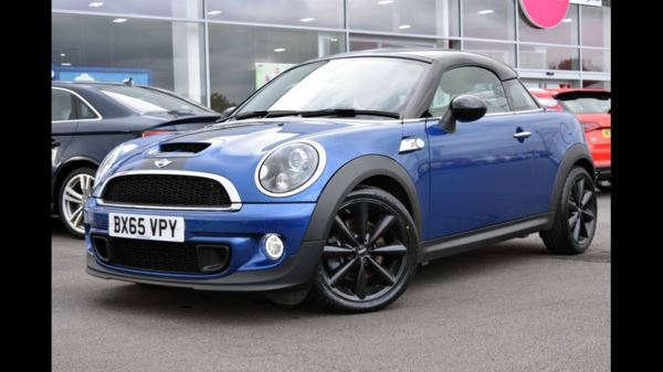 Mini Coupe Mini Coupe 16 Cooper S 3dr Chili Pack Tlc Black