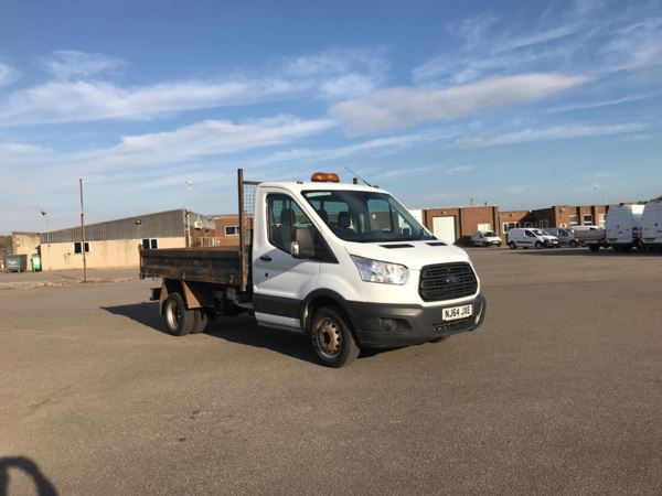 2801d96046 Ford Transit 350 L2 SINGLE CAB TIPPER 100PS EURO 5  VALUE RANGE VEHICLE -  CONDITION REF