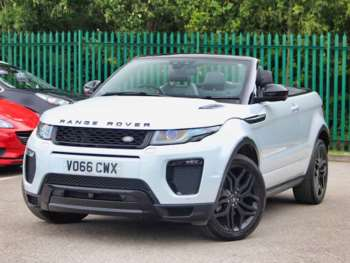 Range Rover Convertible For Sale >> Used Land Rover Range Rover Evoque Convertible For Sale