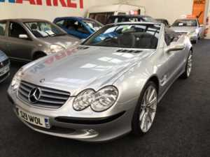 2002 (52) Mercedes-Benz SL Series SL 500 Auto From £12950+Retail Package For Sale In Thornton-Cleveleys, Lancashire
