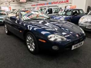 2001 Y Jaguar XKR 4.0 Supercharged 2dr Auto 2 Doors Coupe