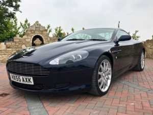 2005 (55) Aston Martin DB9 V12 2dr Lovely Colour Combination, Stunning Condition! For Sale In Box, Wiltshire