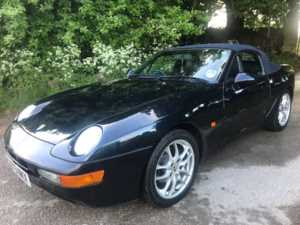 1994 (L) Porsche 968 CABRIOLET Massive Service History, Likely To Appreciate Quickly! For Sale In Box, Wiltshire