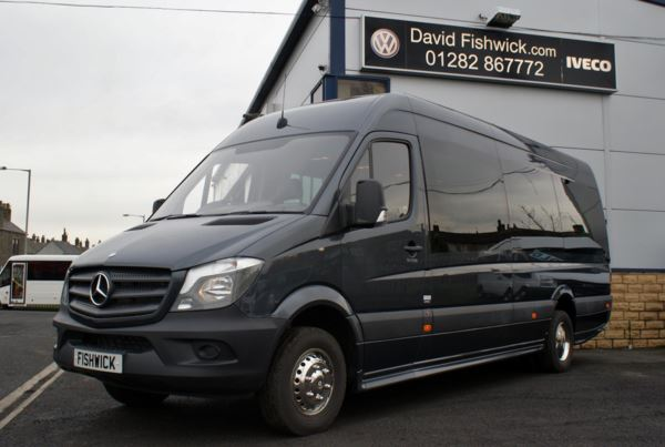 Mercedes-Benz Sprinter 519 CDi Automatic 17 Seat Luxury Minicoach For Sale In Colne, Lancashire