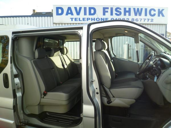 2011 (61) Vauxhall Vivaro 2.0 CDTi 115 Sportive Double Cab For Sale In Colne, Lancashire