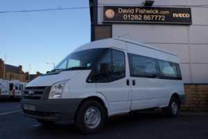 2009 09 Ford Transit T350 100 Customised 9 Seat Minibus 5 Doors Minibus