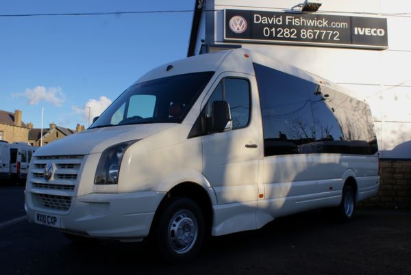 2010 (10) Volkswagen Crafter CR50 BLUE TDI 136 17 Seat Luxury Minicoach For Sale In Colne, Lancashire