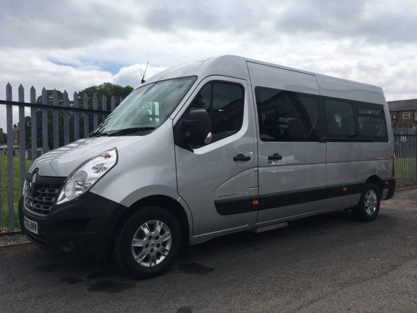 2016 (66) Renault Master LM39 165 Energy Business 17 Seat Minibus For Sale In Colne, Lancashire