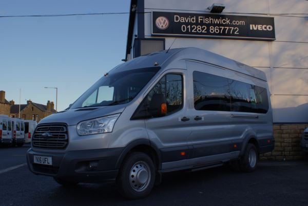 2016 (16) Ford Transit T460 125 Trend 17 Seat Minibus - PSV With CCTV For Sale In Colne, Lancashire