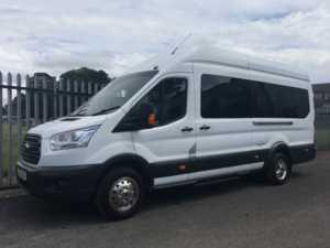 2015 15 Ford Transit T460 Trend 125 17 Seat Minibus 5 Doors Minibus