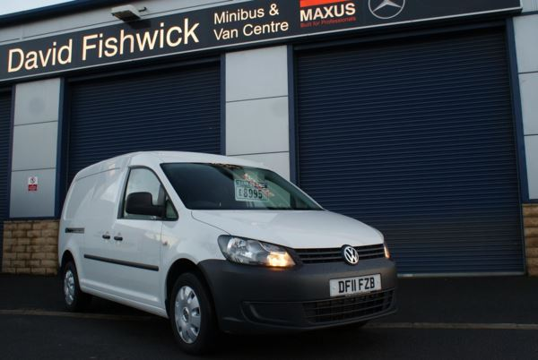 Volkswagen Caddy Maxi C20 1.6 TDi 102 Panel Van For Sale In Colne, Lancashire