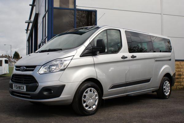 (17) Ford Tourneo Zetec 300 L2 130 9 Seat Minibus For Sale In Colne, Lancashire