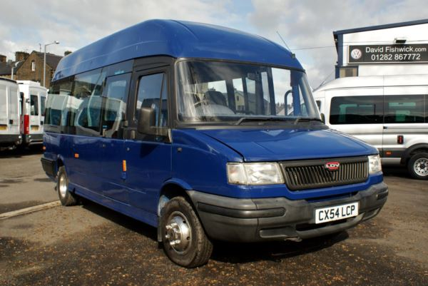2004 (54) LDV Convoy Excel High Roof 17 Seat Minicoach For Sale In Colne, Lancashire
