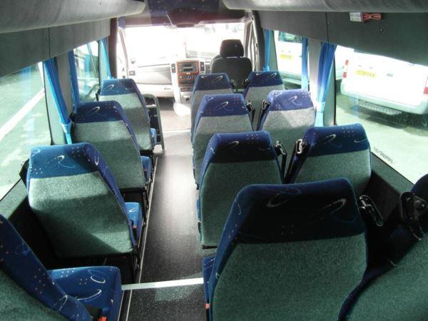 Mercedes-Benz Sprinter 516 CDi blueEFFICIENCY 17 Seat Minicoach For Sale In Colne, Lancashire