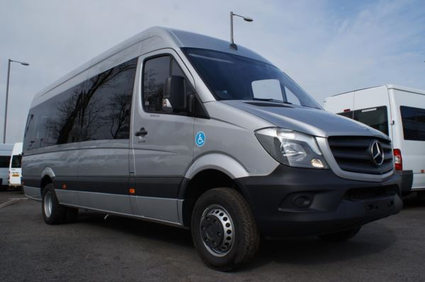 Mercedes-Benz Sprinter 516 CDi Wheelchair Accessible 17 Seat Minicoach For Sale In Colne, Lancashire