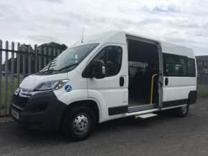 2016 16 Citroen Relay 350 HDi 130 Enterprise 11 Seat Wheelchair Accessible Minibus 5 Doors