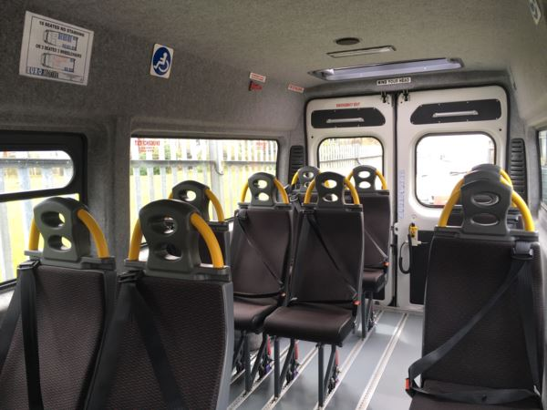 2016 (16) Citroen Relay 350 HDi 130 Enterprise 11 Seat Wheelchair Accessible Minibus For Sale In Colne, Lancashire