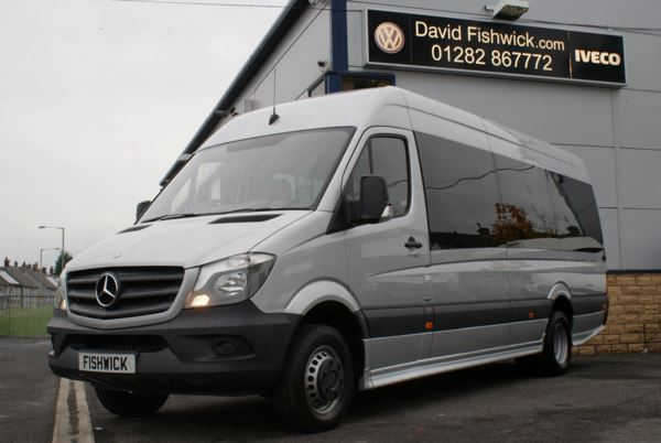 Mercedes-Benz Sprinter 516 CDi 17 Seat Luxury Minicoach For Sale In Colne, Lancashire