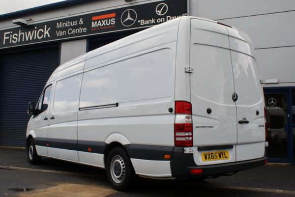 2015 (65) Mercedes-Benz Sprinter 313 LWB High Roof Panel Van For Sale In Colne, Lancashire